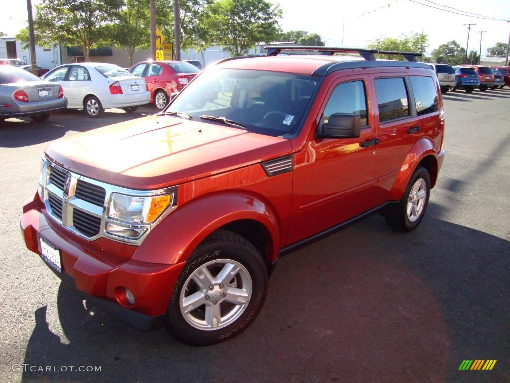 2007 sunburst orange pearl dodge nitro slt 4x4 14940225 car color galleries. Black Bedroom Furniture Sets. Home Design Ideas