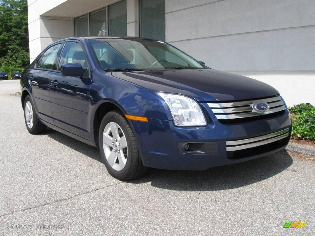 Dark Blue Pearl Metallic Ford Fusion