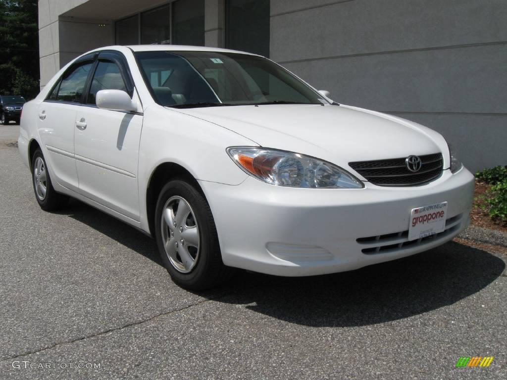 2003 Super White Toyota Camry Le 14937494 Gtcarlot Com