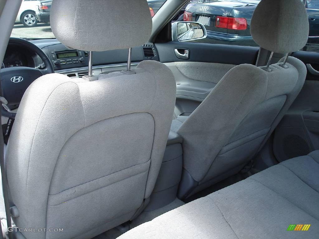 2006 silver blue metallic hyundai sonata gls v6 14938368 photo 11 car color for Hyundai sonata 2006 interior