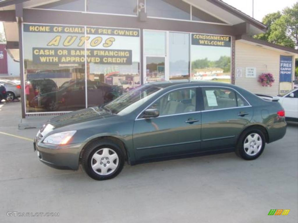 Deep Green Pearl Honda Accord