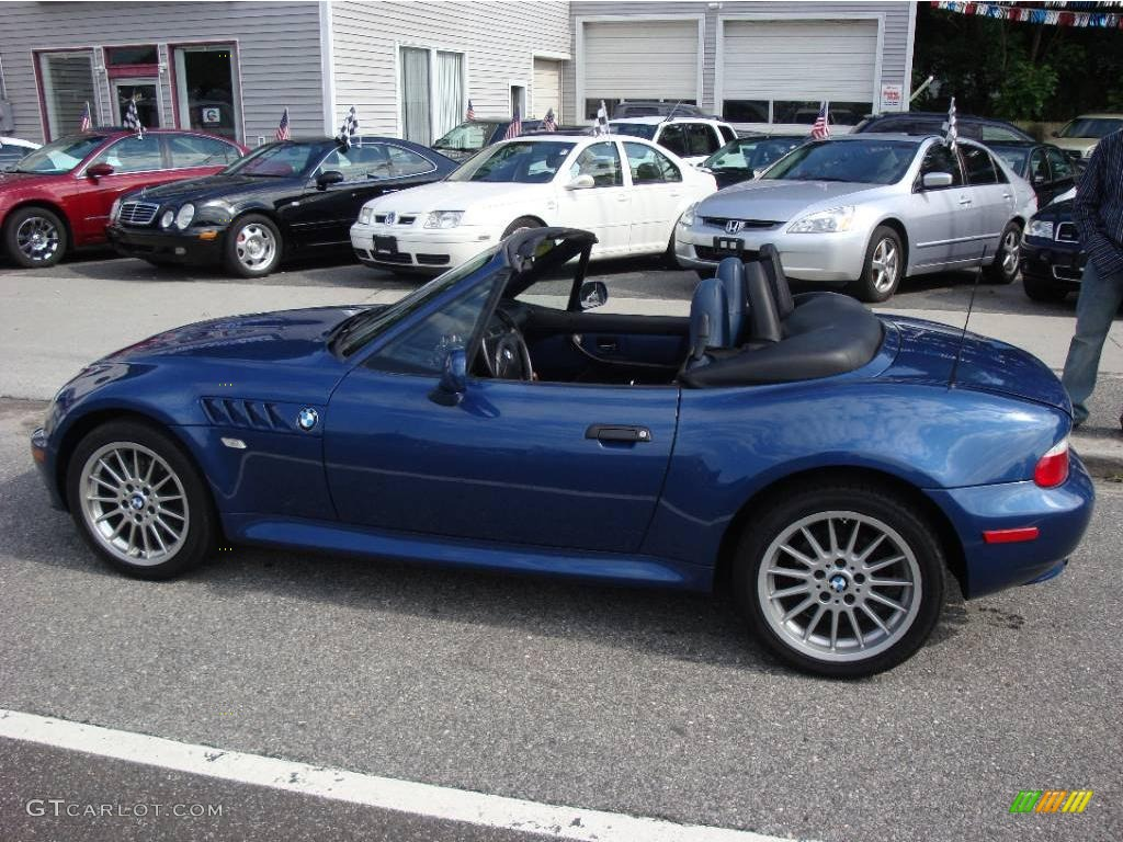 2001 Topaz Blue Metallic Bmw Z3 3 0i Roadster 15037559 Photo 7 Gtcarlot Com Car Color