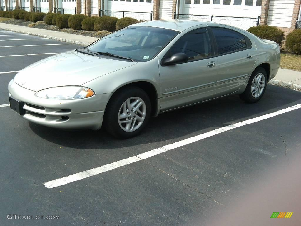 Champagne pearl metallic dodge intrepid