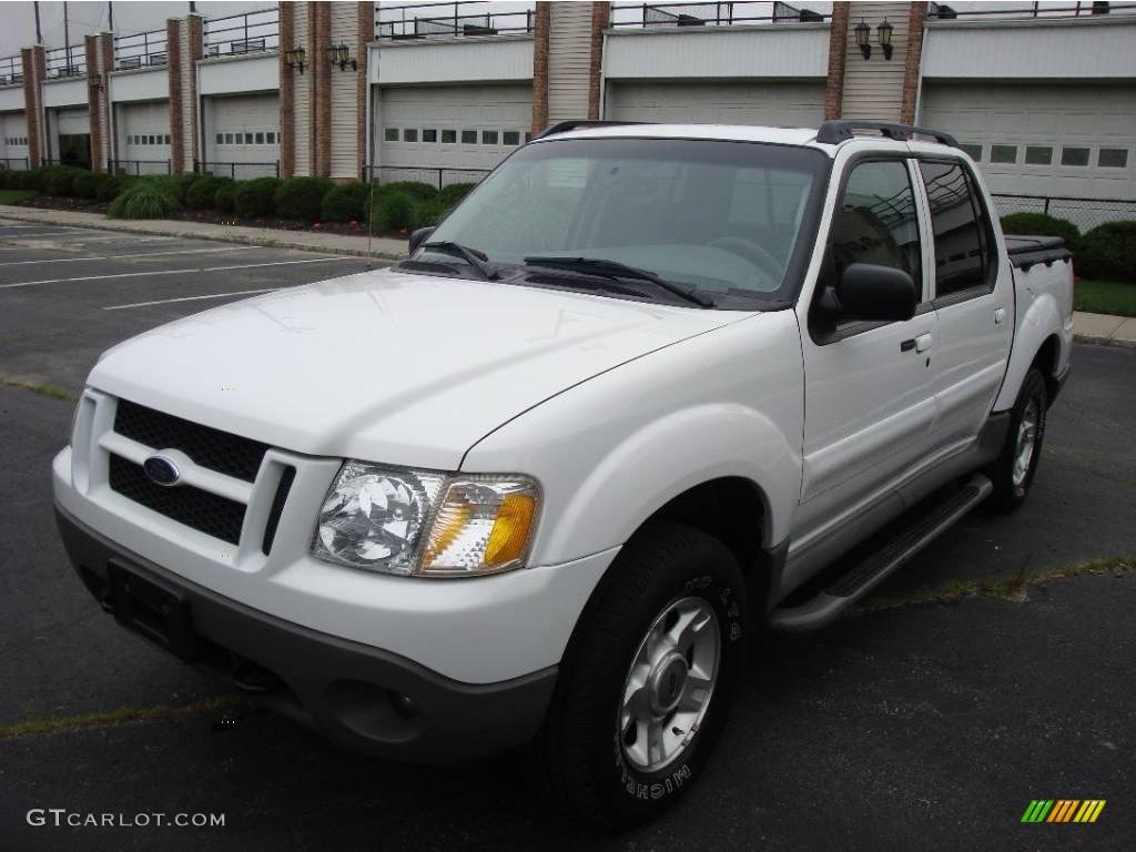 2003 Oxford White Ford Explorer Sport Trac XLT 4x4 15037557