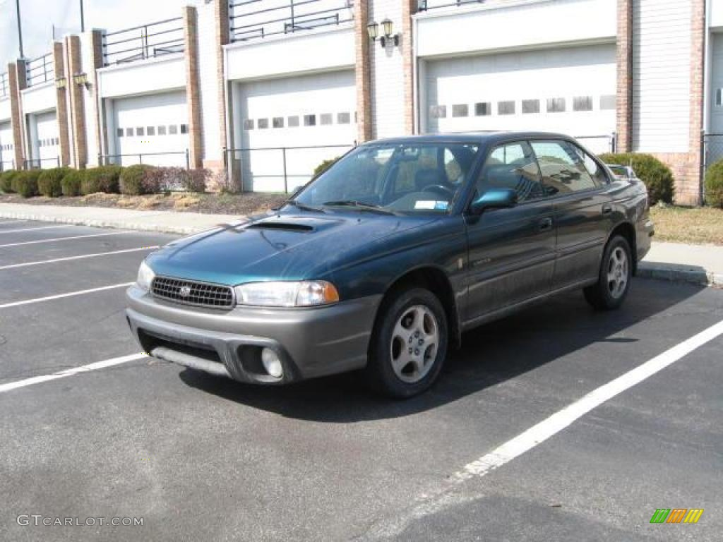 1999 Spruce Green Pearl Subaru Legacy L Sedan 15037491