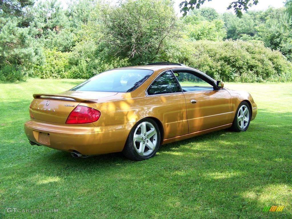 2001 sundance gold metallic acura cl 3 2 type s 15067706 photo 5 car color. Black Bedroom Furniture Sets. Home Design Ideas