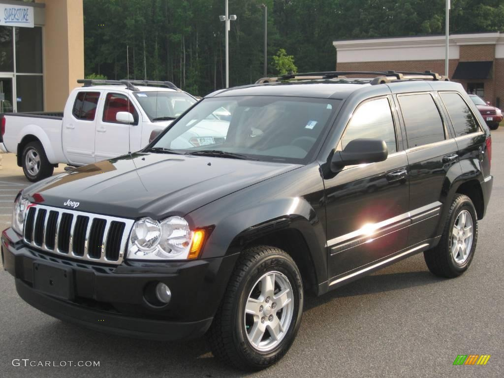 2007 black jeep grand cherokee laredo 15062795 car color galleries. Black Bedroom Furniture Sets. Home Design Ideas