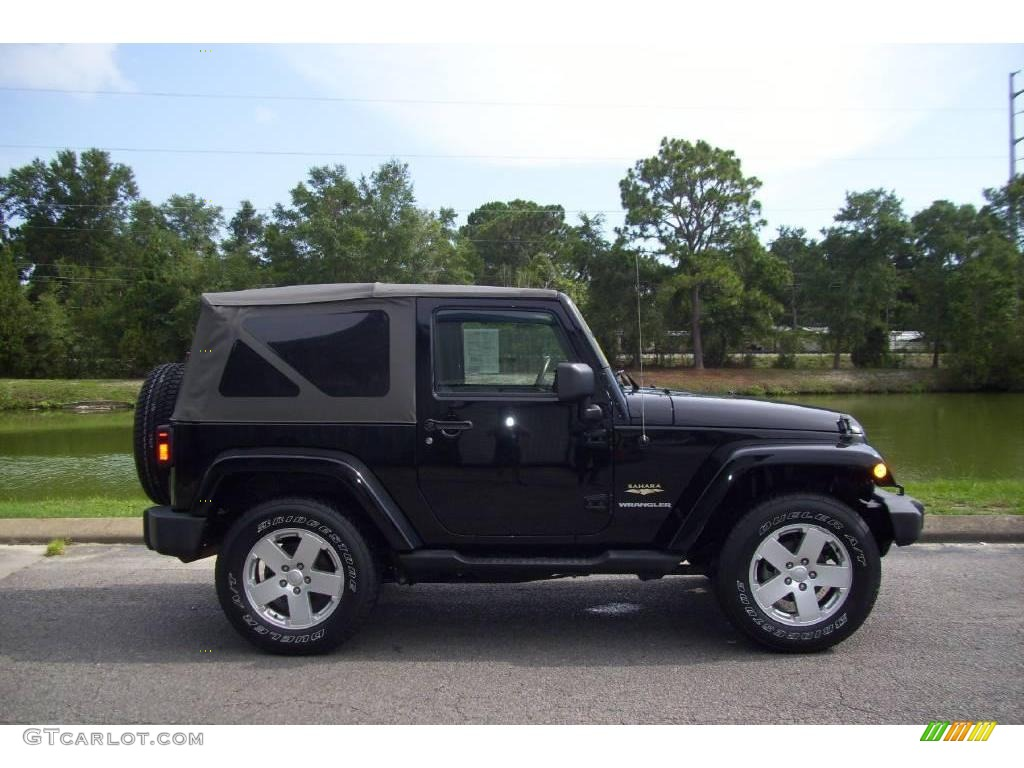 2007 black jeep wrangler sahara 4x4 15065428 car color galleries. Black Bedroom Furniture Sets. Home Design Ideas