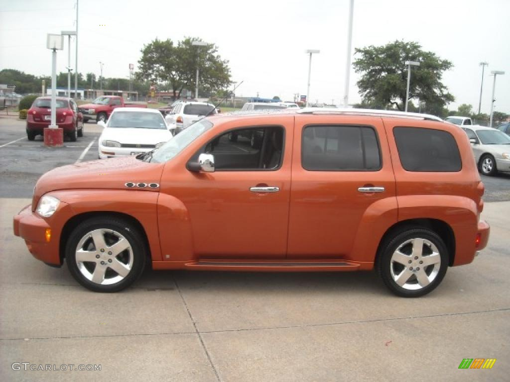 2006 Sunburst Orange Ii Metallic Chevrolet Hhr Lt 15105230