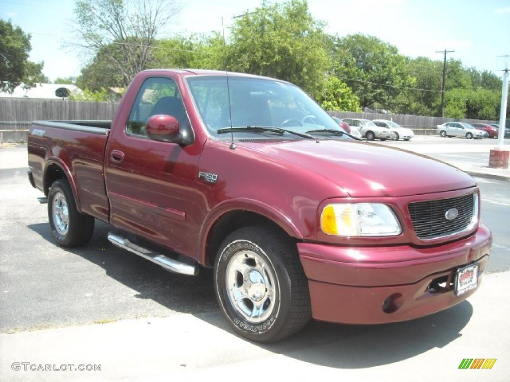 2003 toreador red metallic ford f150 stx regular cab 15105227 photo 3 car. Black Bedroom Furniture Sets. Home Design Ideas