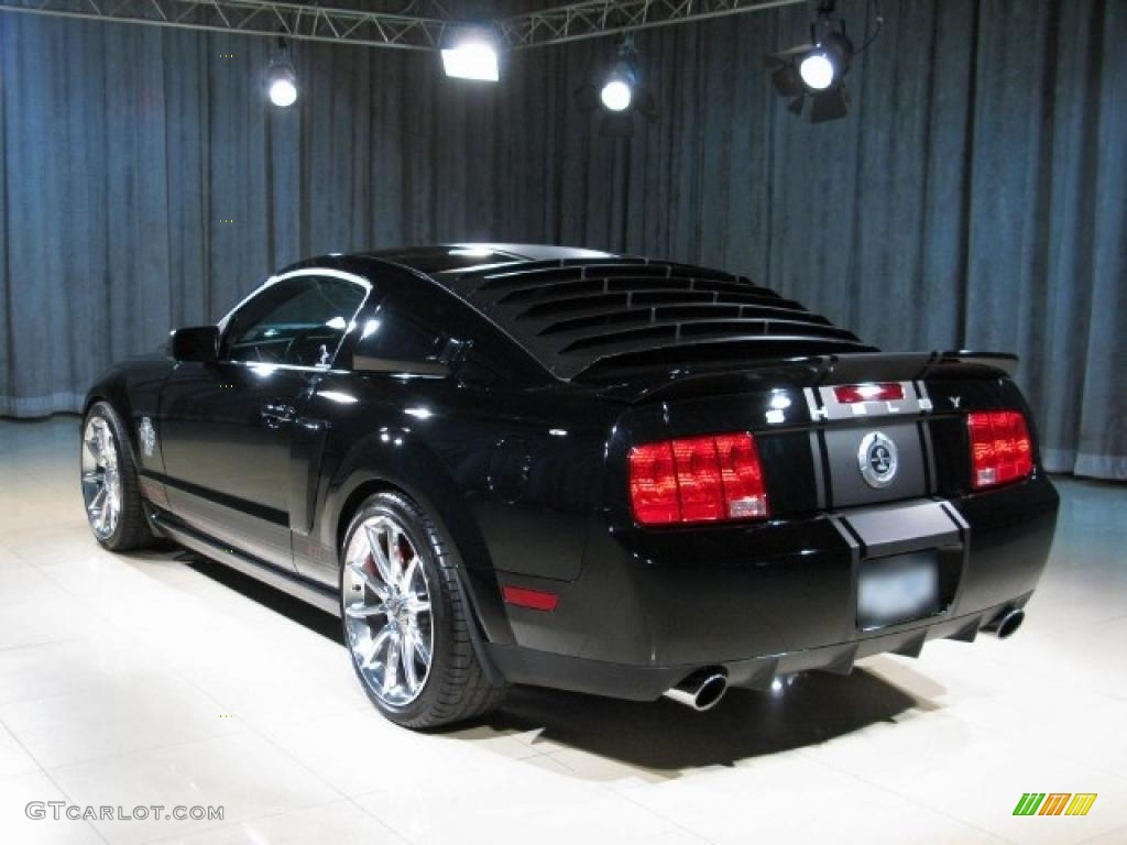 2007 mustang gt500 interior 2007 ford mustang shelby gt500 - 2007 Mustang Shelby Gt500 Super Snake Coupe Black Black Red Photo 2