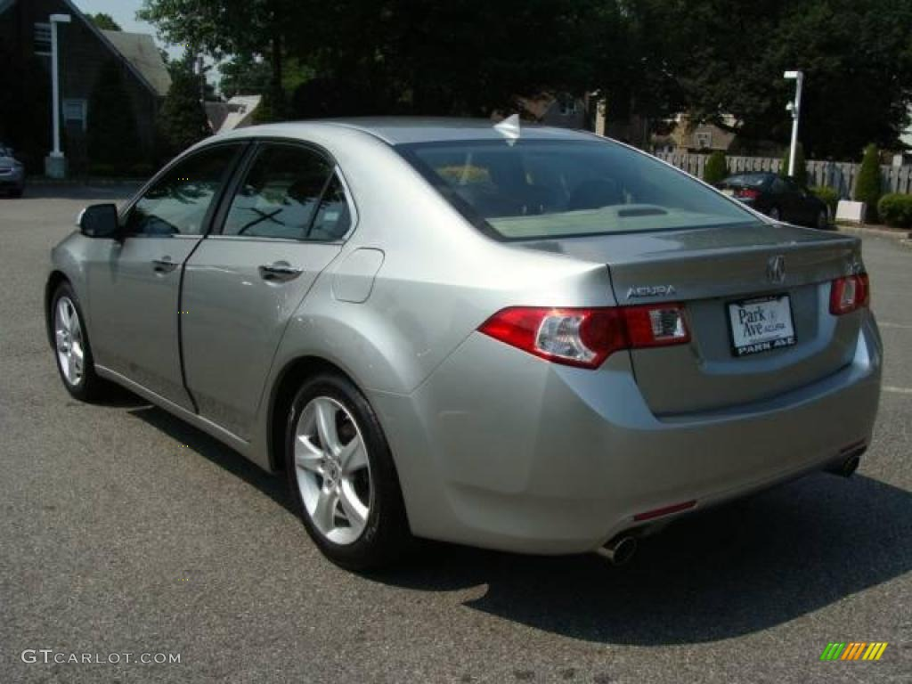 2009 TSX Sedan - Palladium Metallic / Ebony photo #4