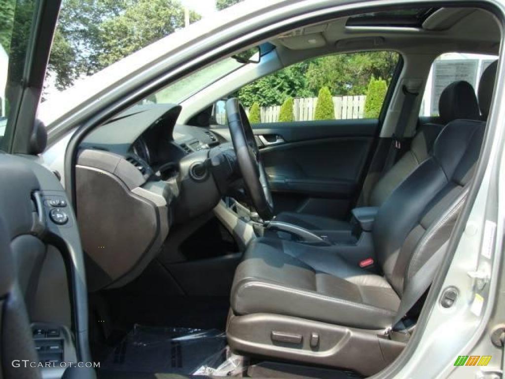 2009 TSX Sedan - Palladium Metallic / Ebony photo #8