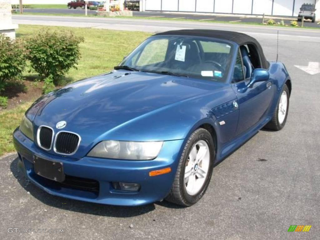 2000 Estoril Blue Metallic Bmw Z3 2 3 Roadster 15127090
