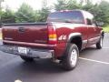 2000 Dark Carmine Red Metallic Chevrolet Silverado 1500 LS Extended Cab 4x4  photo #13