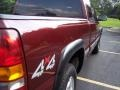 2000 Dark Carmine Red Metallic Chevrolet Silverado 1500 LS Extended Cab 4x4  photo #14