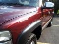 2000 Dark Carmine Red Metallic Chevrolet Silverado 1500 LS Extended Cab 4x4  photo #25