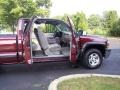 2000 Dark Carmine Red Metallic Chevrolet Silverado 1500 LS Extended Cab 4x4  photo #28