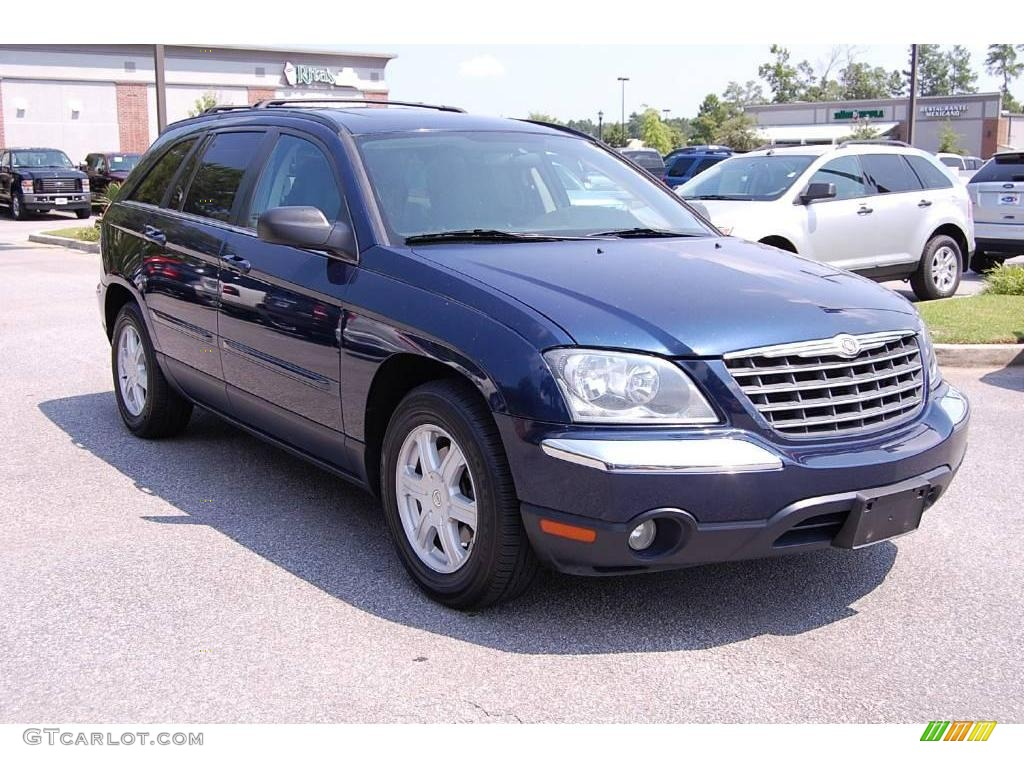 Midnight blue pearl chrysler pacifica