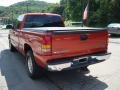 2001 Sunset Orange Metallic Chevrolet Silverado 1500 LS Extended Cab 4x4  photo #4