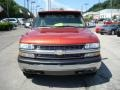 2001 Sunset Orange Metallic Chevrolet Silverado 1500 LS Extended Cab 4x4  photo #6