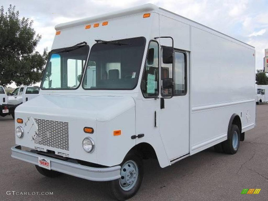 2006 e series cutaway e450 commercial delivery truck oxford white medium flint photo