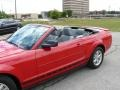 2007 Torch Red Ford Mustang V6 Premium Convertible  photo #12
