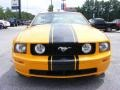 2007 Grabber Orange Ford Mustang GT Premium Convertible  photo #3