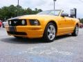 2007 Grabber Orange Ford Mustang GT Premium Convertible  photo #4