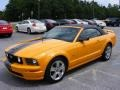 2007 Grabber Orange Ford Mustang GT Premium Convertible  photo #20