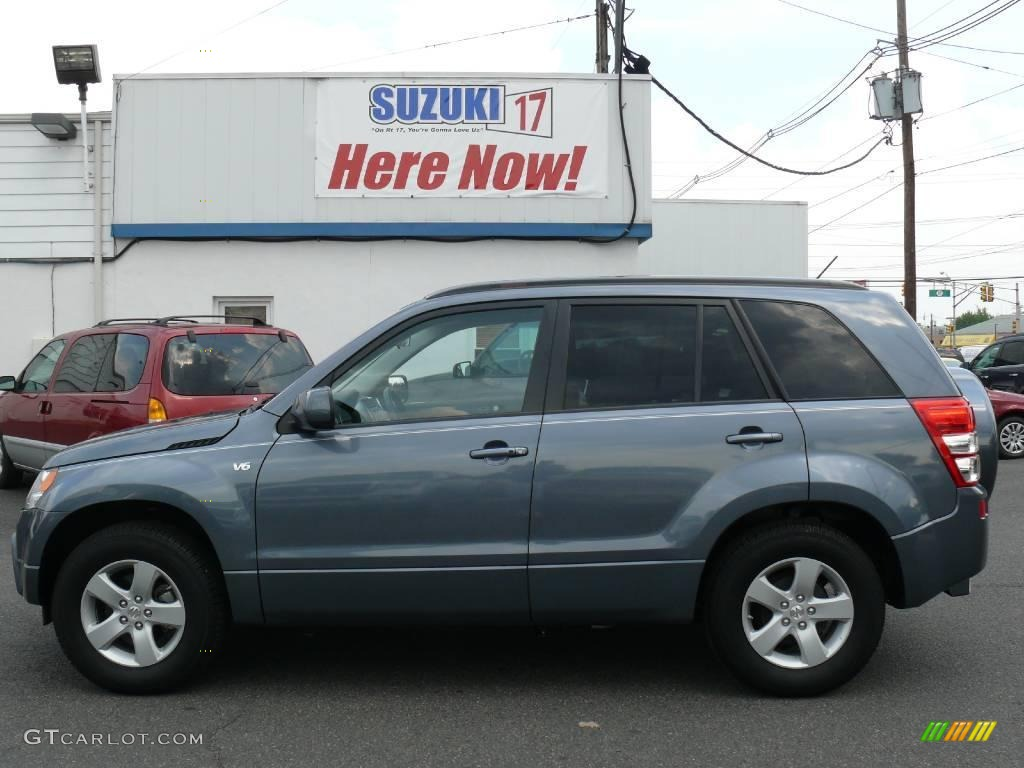 Azure grey metallic suzuki grand vitara