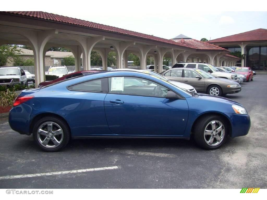 2007 Electric Blue Metallic Pontiac G6 Gt Coupe 15127701