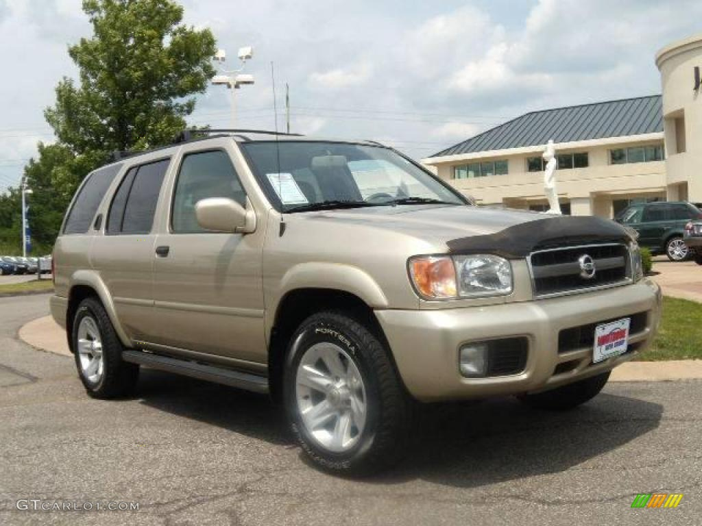 2002 pathfinder le 4x4 sahara beige metallic beige photo 1