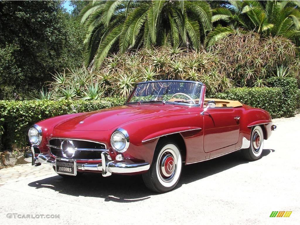 1960 Red Mercedes-Benz SL