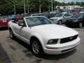 2007 Performance White Ford Mustang V6 Deluxe Convertible  photo #6