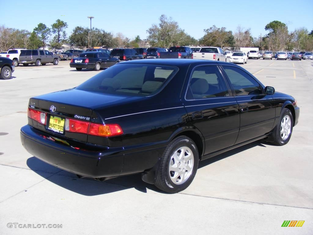2001 Black Toyota Camry Le 1506723 Photo 6 Gtcarlot