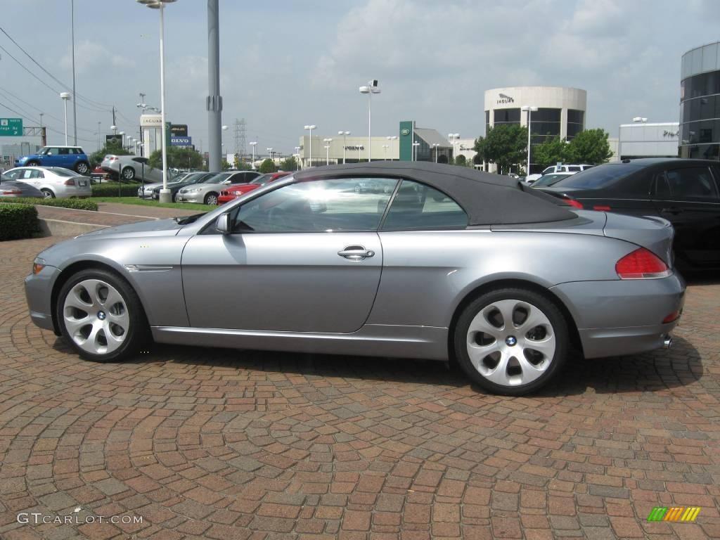 2006 Stratus Grey Metallic Bmw 6 Series 650i Convertible