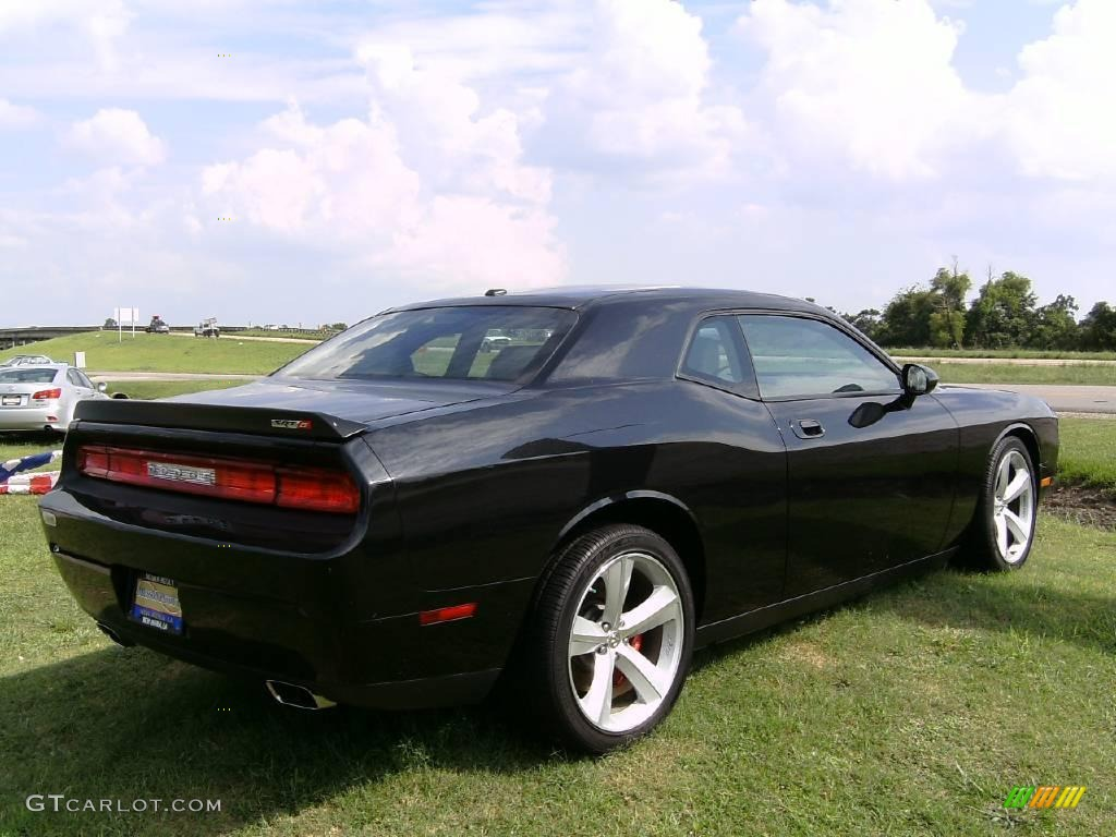 2008 challenger srt8 brilliant black crystal pearl dark slate gray photo 5