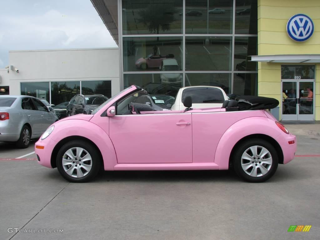 2009 custom pink volkswagen new beetle 2 5 convertible 15207872 photo 12 car. Black Bedroom Furniture Sets. Home Design Ideas