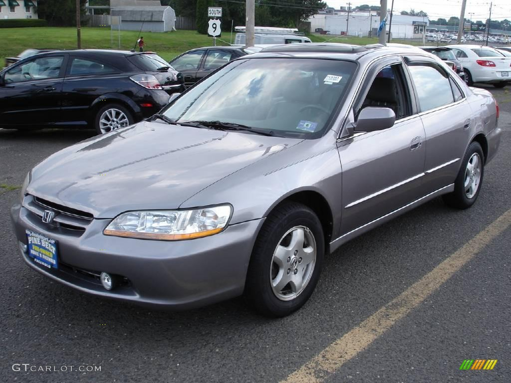 2000 Signet Silver Metallic Honda Accord EX V6 Sedan ...