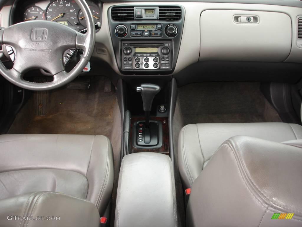 2000 Signet Silver Metallic Honda Accord Ex V6 Sedan 15201357 Photo 12 Car