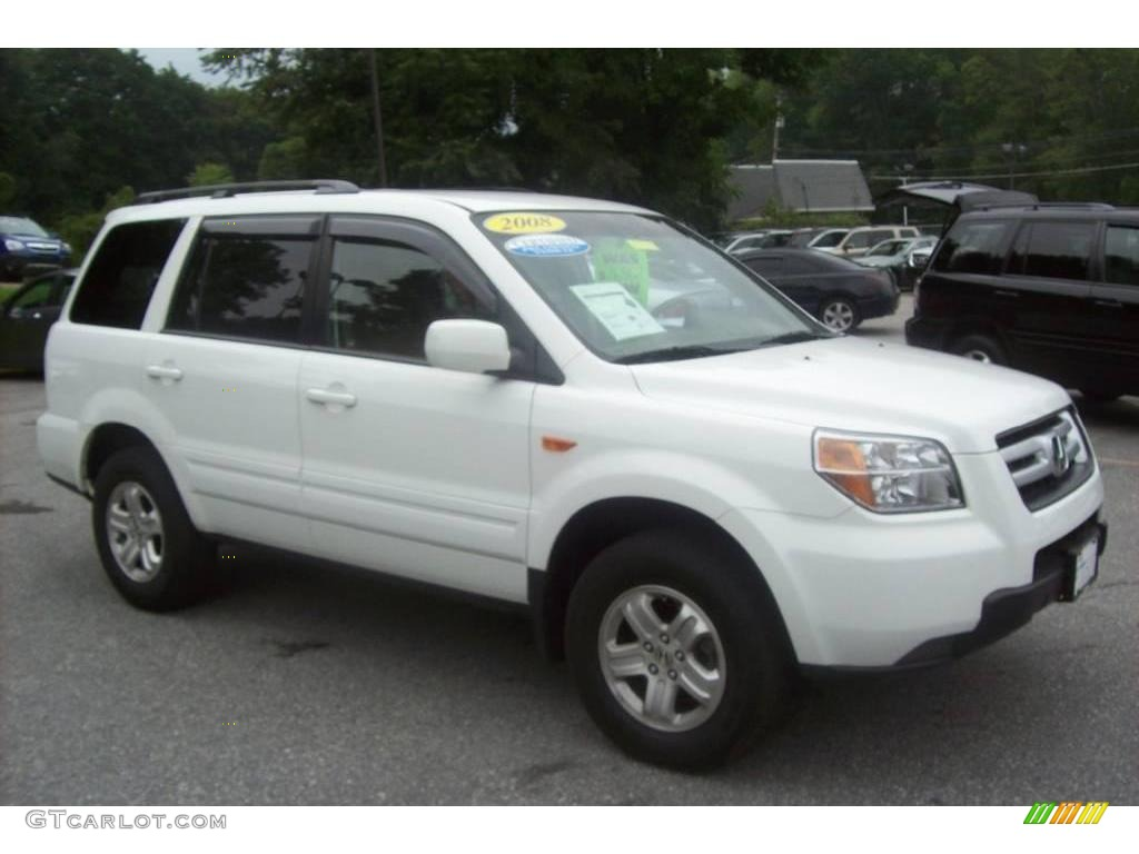 2008 Taffeta White Honda Pilot Value Package 4WD 15209432