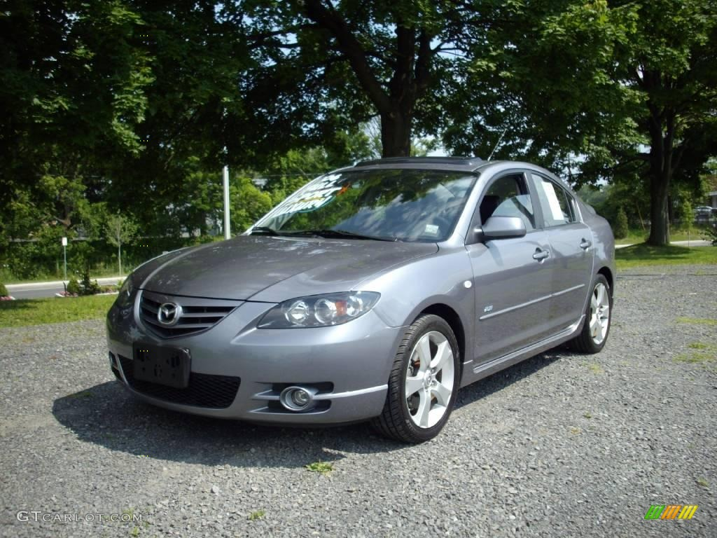 2006 titanium gray metallic mazda mazda3 s touring sedan. Black Bedroom Furniture Sets. Home Design Ideas