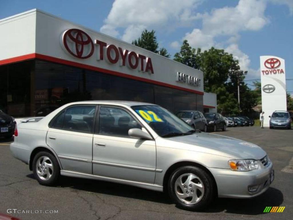 2002 silverstream opal toyota corolla s 15272805 photo 13 car color galleries. Black Bedroom Furniture Sets. Home Design Ideas