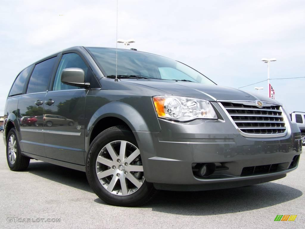 2009 mineral gray metallic chrysler town country touring 15262897 car color. Black Bedroom Furniture Sets. Home Design Ideas