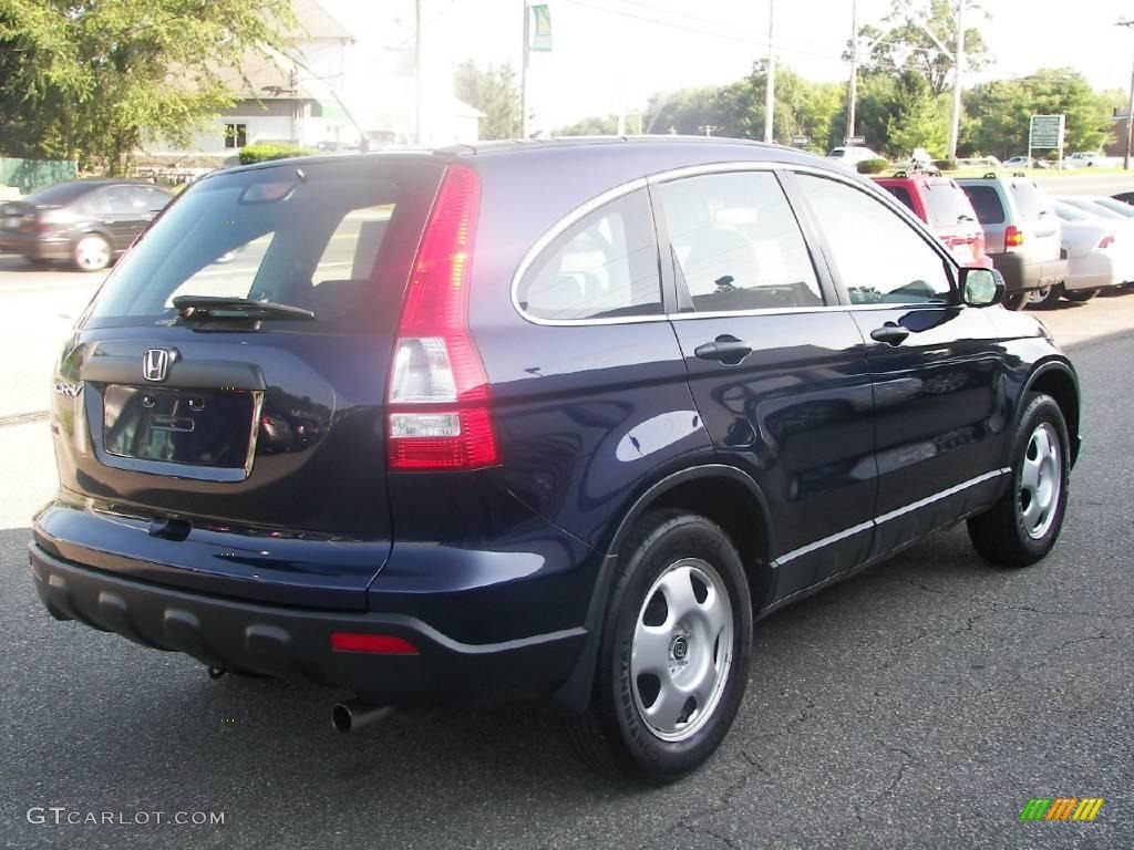 2008 CR-V LX 4WD - Royal Blue Pearl / Black photo #3