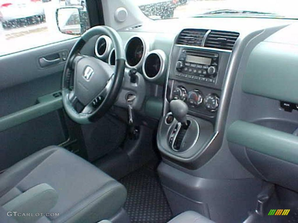 2005 galapagos green metallic honda element ex awd. Black Bedroom Furniture Sets. Home Design Ideas
