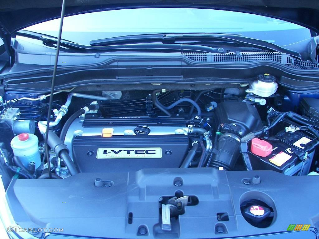 2008 CR-V LX 4WD - Royal Blue Pearl / Black photo #8
