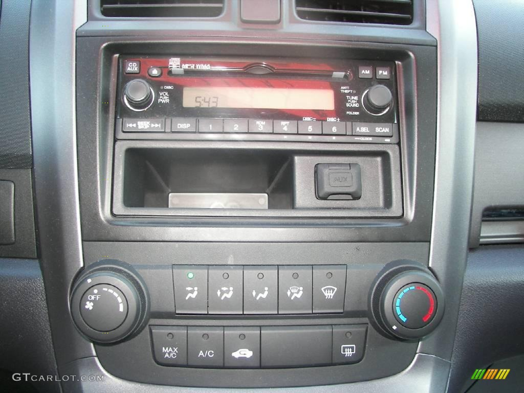 2008 CR-V LX 4WD - Royal Blue Pearl / Black photo #14