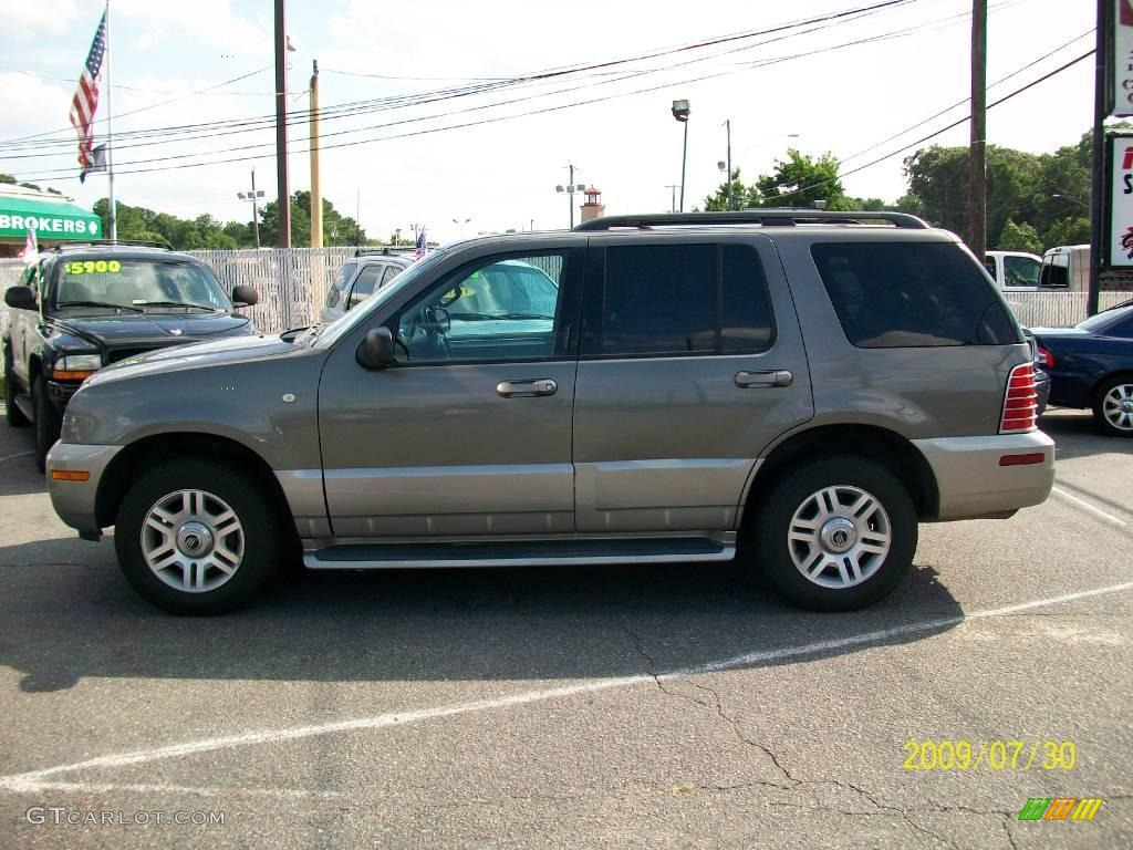 2003 Mineral Grey Metallic Mercury Mountaineer Premier Awd 15280366 Car Color